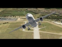 Будапешт - Аликанте. Airbus A320 FF со звуками BSS