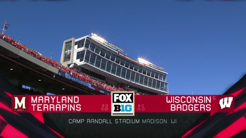 NCAAF 2017 / Week 08 / Maryland Terrapins - (5) Wisconsin Badgers / 21.10.2017 / EN