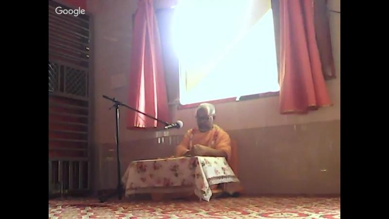 Поклоны Рохини-деви, Баладеве, Парджанье и братьям Нанды Бабы (ВВС, 11-18). 07.06.18, утро.
