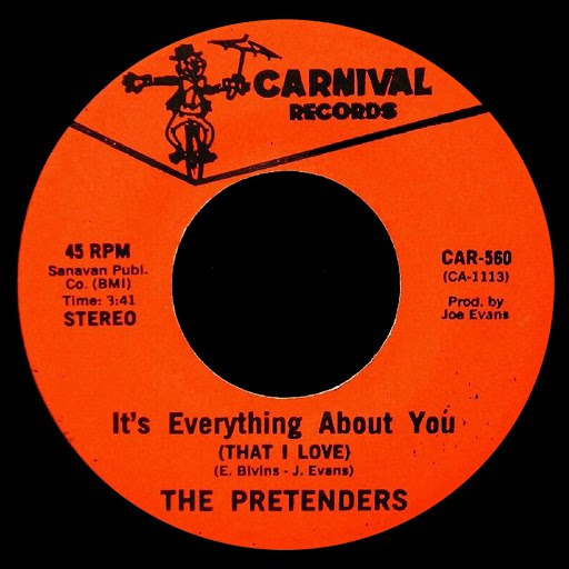 The Pretenders альбом It's Everything About You That I Love