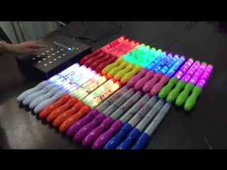 Remote controlled LED light stick