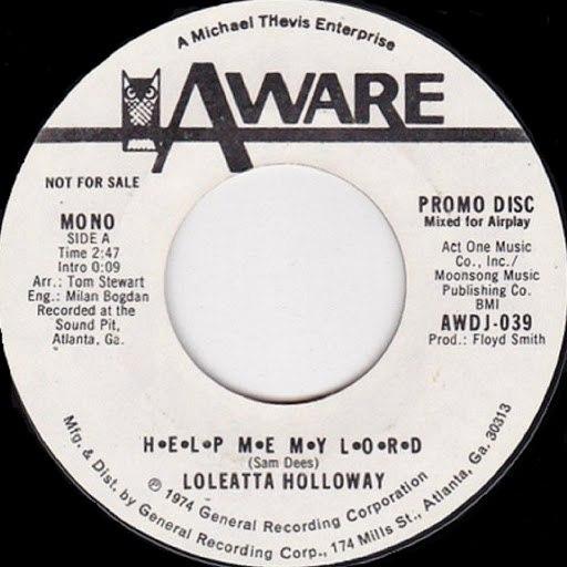 Loleatta Holloway альбом H.E.L.P. M.E. M.Y. L.O.R.D.