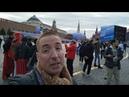 Desde Moscú. Plaza Roja. Clima de mundial. Maravilloso