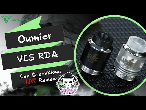 VLS RDA by Oumier from heavengifts.com/ Разноспиральная дрипуля/ Lex GreenKloud LIVE