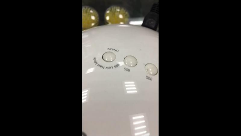 Лампа для ногтей гибрид 48 ватт Sunuv 5