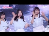 PRODUCE 48 1:1 eye contact | Юн Ынбин (CNC) - Gfriend Love Whisper Team 2 group battle