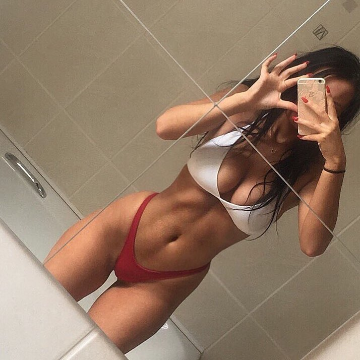 Horny naked ex girlfriend caught masturbating