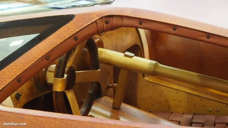 Splinter - The First Wooden SuperCar - Small block V8 7.0 600 bhp - Exterior WalKaround