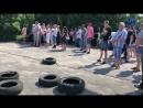У Лебедині мешканці мітингують за ремонт доріг