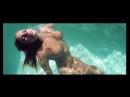 Sabine Jemeljanova naked brunette with big tits in pool