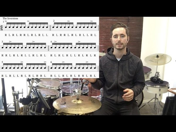 Double Paradiddle Inversions: Lesson 1