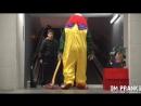 Подборка пранка с клоуном убийцей