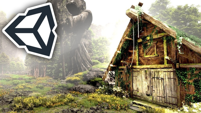 Making a HOUSE FOREST in Unity in 1 HOUR! | Speed Level Design