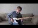 Slipknot - Psychosocial guitar cover (Fender Jim Root Telecaster)