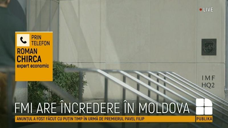 Pavel Filip: Republica Moldova primeşte o nouă tranşă de 33,75 de milioane de dolari din partea FMI