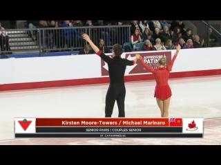 Kirsten Moore-Towers _ Michael Marinaro 2018 CTNSC - SP