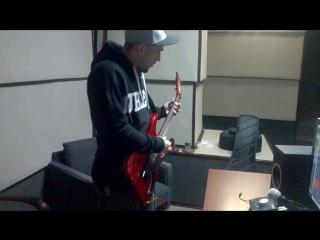 MYSELF in studio. REC