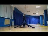 Exotic Pole Dance Duet