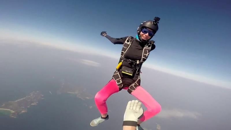 IRADIMA Panama isla Contadora skydive Pepe's island boogie 2018