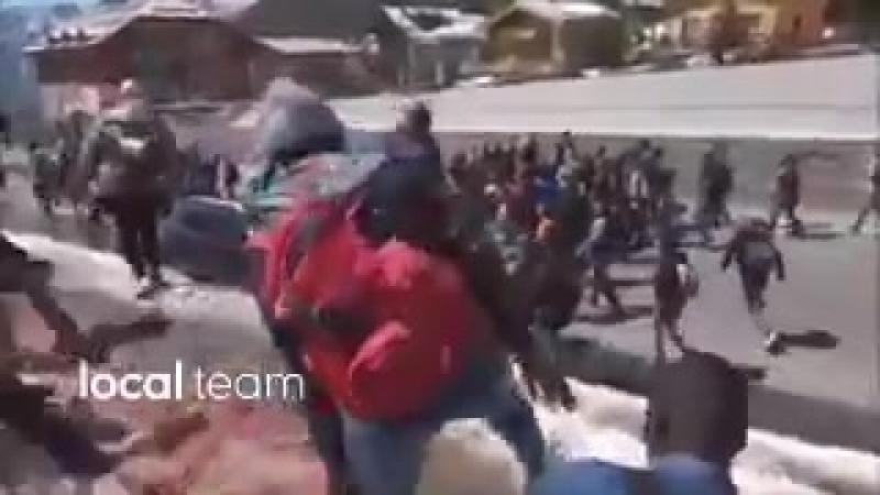 Migranten durchbrechen die Grenze und stürmen von Italien nach Frankreich!