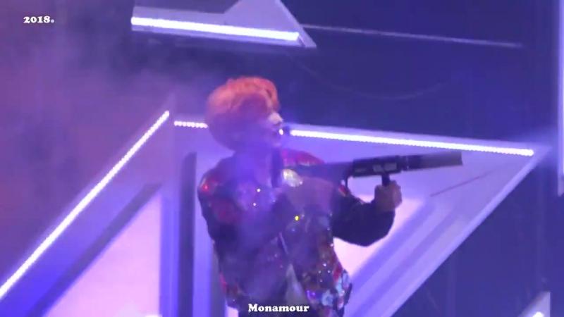 [VK][180506/180517] MONSTA X fancam - Unfair Love (Kihyun focus) @ 1st Japan Tour 'PIECE' in Osaka (D-2) / Tokyo (D-1)