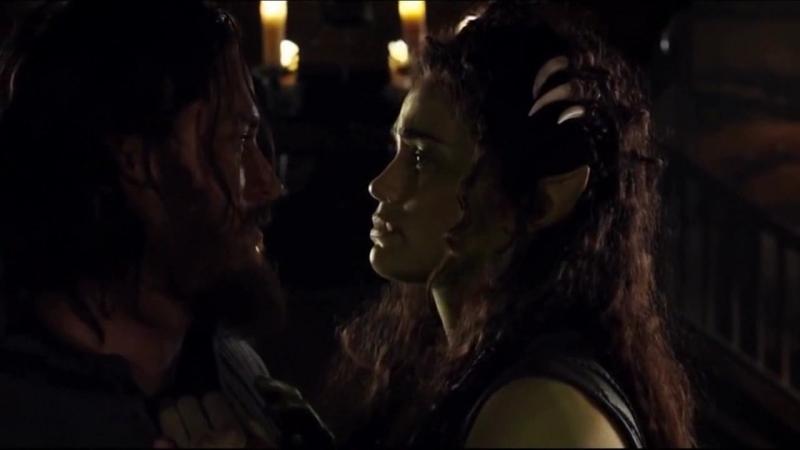 Love story of Lothar and Garona