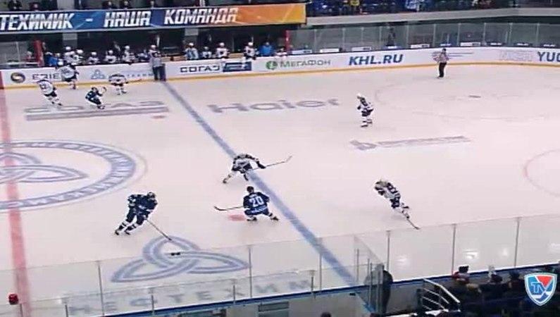 Моменты из матчей КХЛ сезона 14/15 • Гол. 0:1. Вярн Макс (ХК Сочи) открывает счет матча 27.10