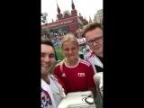 11 июля месте со звёздами футбола на Красную площадь вышли СЕРГЕЙ ВОЙТЕНКО, БАЯН МИКС и другие музыканты! 13