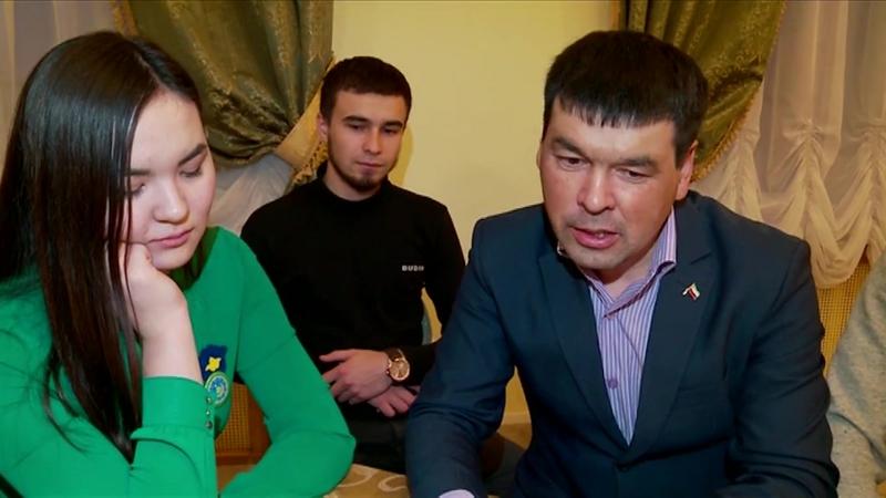 Яна Сулыш. Съезд татарской молодежи в Тюмени