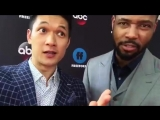 Harry Shum Jr & Isaiah Mustafa are at the #FreeformUpfront and are ready for tonight's two hour season finale
