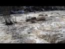 порог Ревун на реке Исеть в апреле