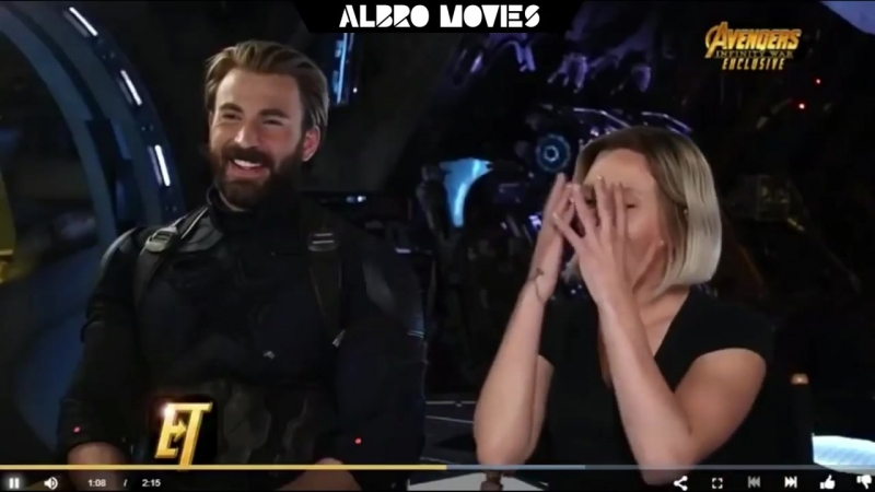 AVENGERS: INFINITY WAR Behind the Scenes on ET Promo [HD] Chris Evans, Chadwick