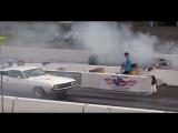 Старый маслкар Dodge Challenger 1972 года против SRT Demon 2017 года. Кто кого???