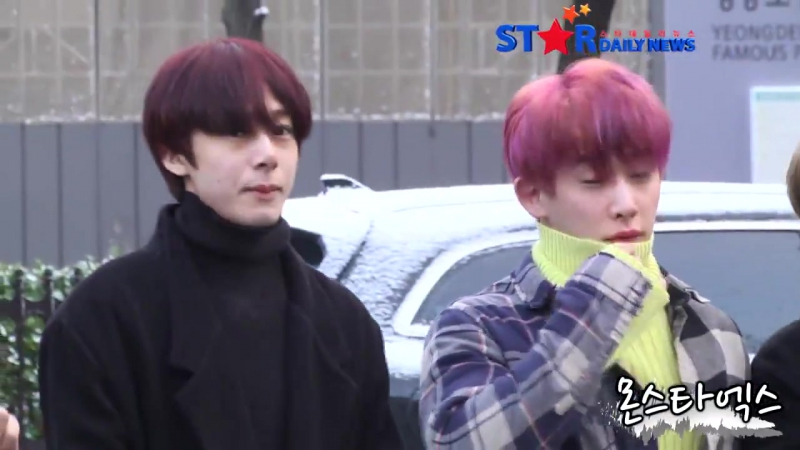 [RAW|VK][24.11.2017] MONSTA X at arrive KBS Music Bank @StarDailyNews