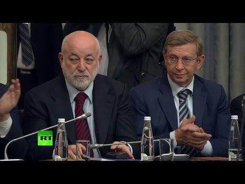 Путин проводит заседание попечительского совета Русского географического общества