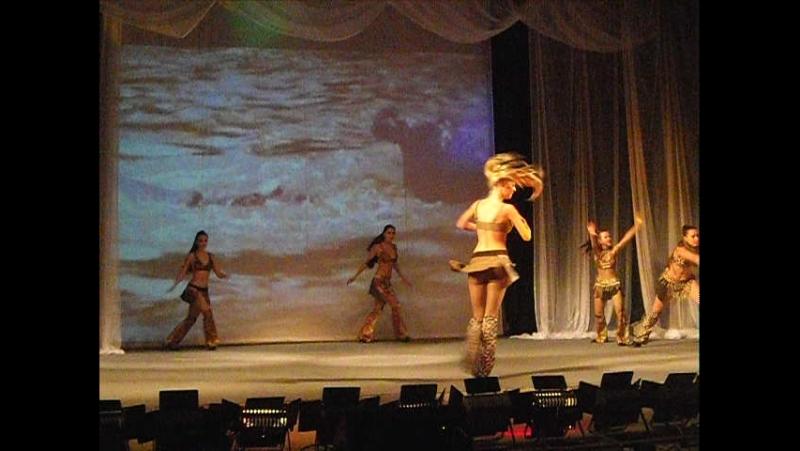 Танец АМАЗОНКИ Новогодний спектакль 2012 год