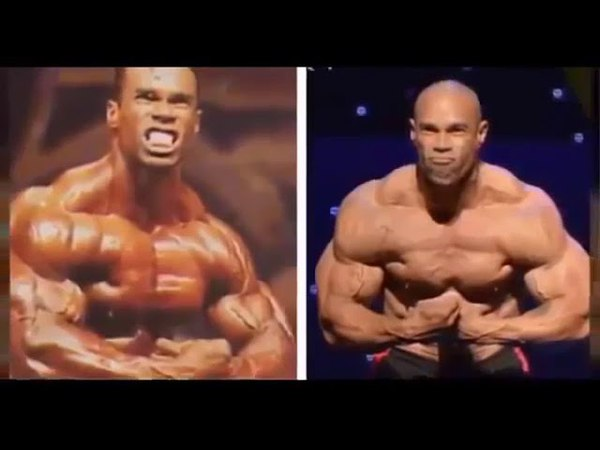 Kevin Levrone road from 1995 to 2018 HD