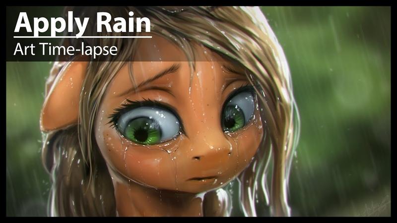 Apply Rain (Art Time-Lapse)