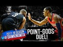 Rajon Rondo vs Chris Paul Point-GODS Duel