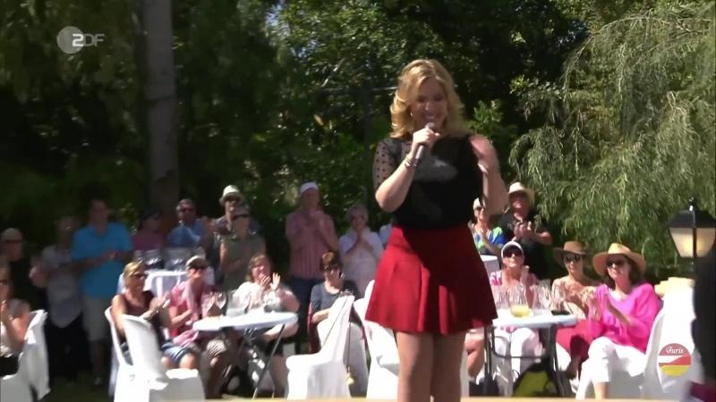 Laura Wilde «Wolkenbruch im 7ten Himmel» ZDF-Fernsehgarten on tour auf Teneriffa 2018