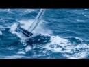 яхта в шторме