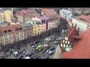 Немцы вышли на митинг против мигрантов В городе Котбус прошла массовая акция пр