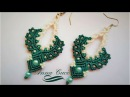Tutorial macrame earrings Victoria / Diy tutorial / orecchini macrame