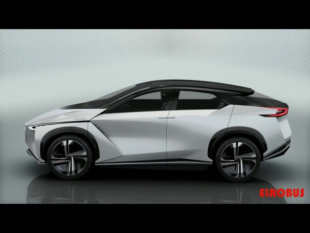 Серийный электрокроссовер Nissan IMX