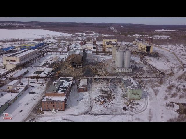 Полевской (Криолитовый завод всё в металлолом)
