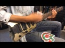 German made Hohner G3T travel electric guitar (DEMO)