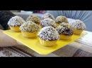Блюдо к Посту ! Десерт Воздушные очень вкусные кексы (Без яиц молока и масла)