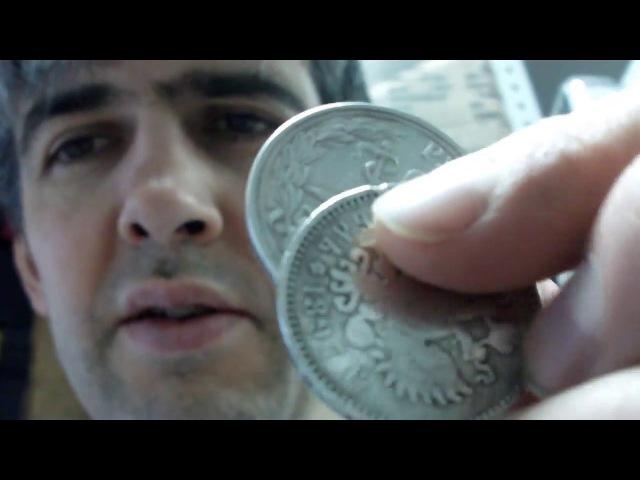 Определение Серебра с помощью ХОЛОДА и ВОДЫ! Узнайте Копии и ФУФЛО монет!