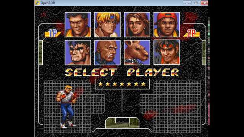 Street of Rage XXX [OpenBoR] - Director's cut C - real-time playthrough