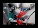 Смесительный узел для теплого пола! Теплый пол водяной своими руками Опрессовка отопления